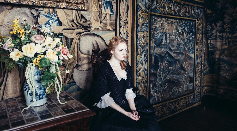 "Emma Stone in 2018's ""The Favourite."""