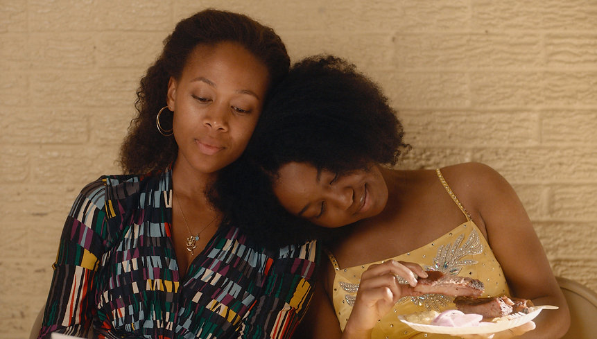 """Nicole Beharie and Alexis Chikaeze in 2020's """"Miss Juneteenth."""""""