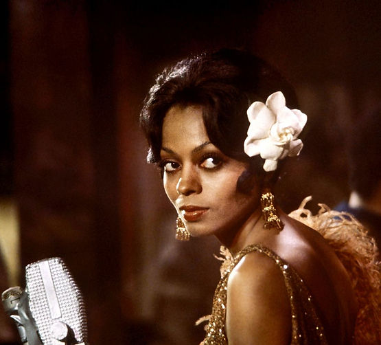 "Diana Ross in 1972's ""Lady Sings the Blues."""