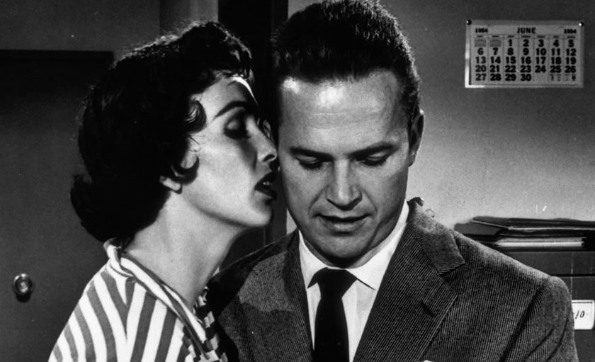 """Movie still from 1955's """"Kiss Me Deadly""""."""