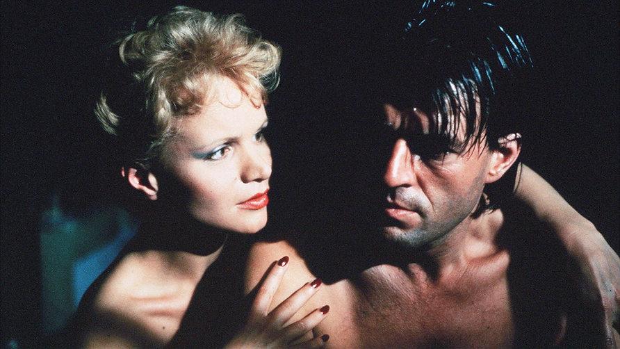 "Jeroen Krabbé and Renée Soutendijk in 1983's ""The Fourth Man."""