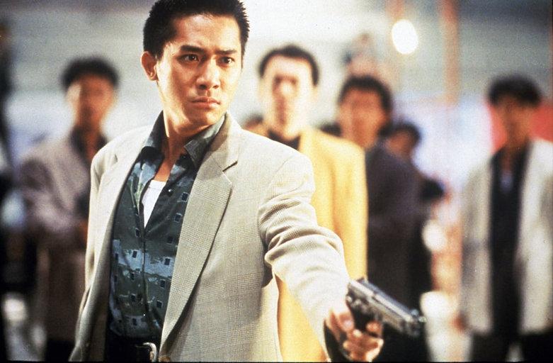 """Tony Leung Chiu-wai in 1992's """"Hard Boiled."""""""