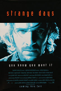 "Movie poster for 1995's ""Strange Days."""