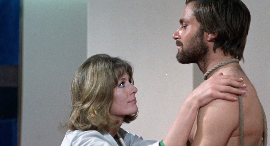 "Vanessa Redgrave and Franco Nero in 1968's ""A Quiet Place in the Country."""