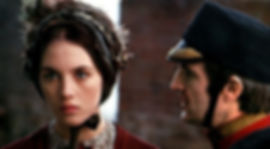 """Isabelle Adjani and François Truffaut in 1975's """"The Story of Adele H."""""""