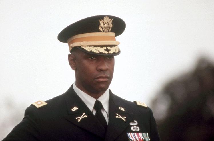 """Denzel Washington in 1996's """"Courage Under Fire."""""""