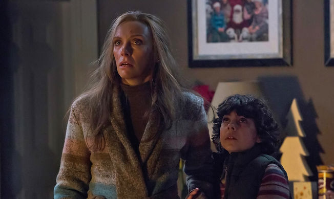 """Toni Collette and Emjay Anthony in 2015's """"Krampus."""""""