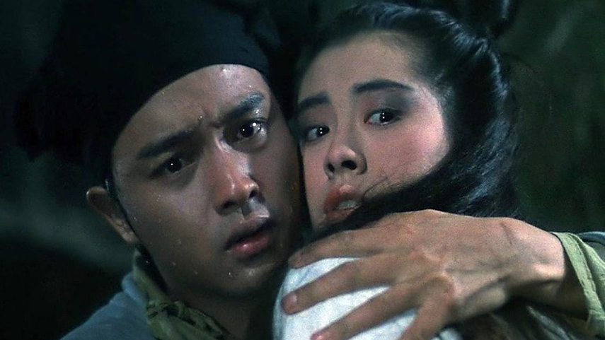 "Leslie Cheung and Joey Wong in 1987's ""A Chinese Ghost Story."""