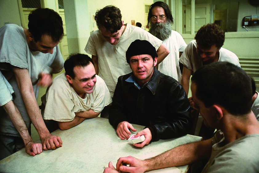 """Still from 1975's """"One Flew Over the Cuckoo's Nest."""""""