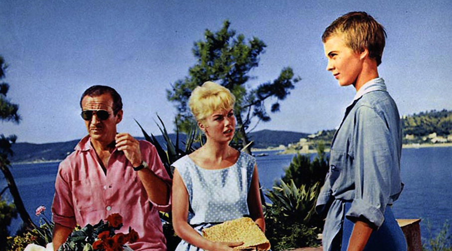 "Still from 1958's ""Bonjour Tristesse."""