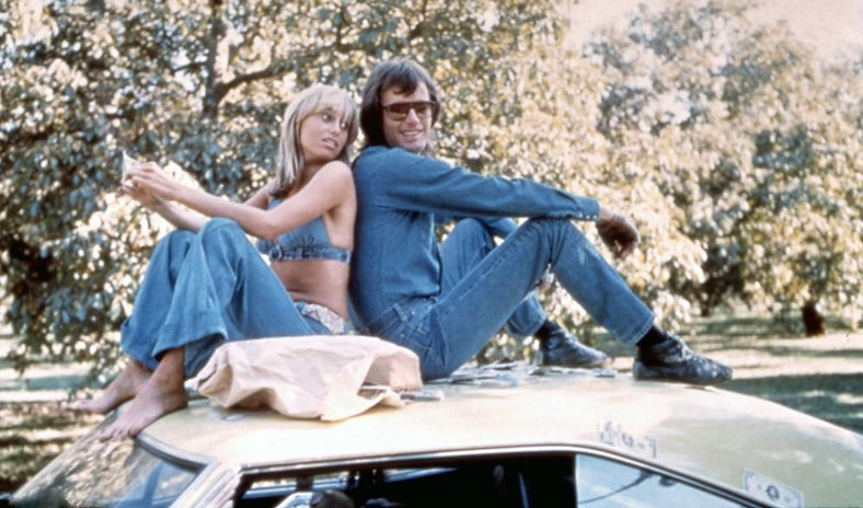 """Movie still from 1974's """"Dirty Mary, Crazy Larry."""""""