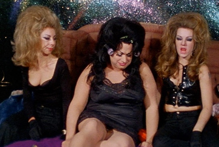 """Divine and her cohorts in 1974's """"Female Trouble."""""""