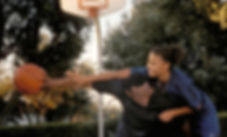 """Omar Epps and Sanaa Lathan in 2000's """"Love and Basketball."""""""
