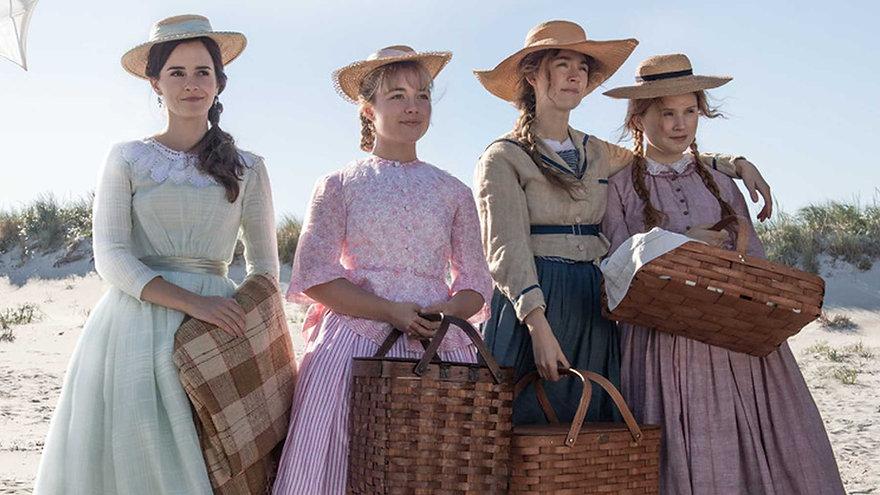 """Emma Watson, Florence Pugh, Saoirse Ronan, and Eliza Scanlen in 2019's """"Little Women."""""""