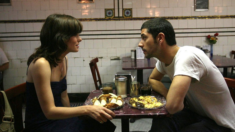"""Parker Posey and Melvil Poupaud in 2007's """"Broken English."""""""