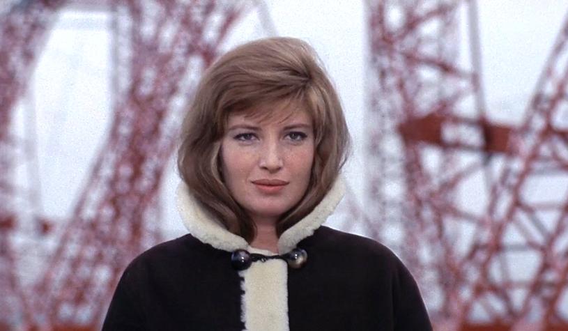 """Monica Vitti in 1964's """"Red Desert."""""""