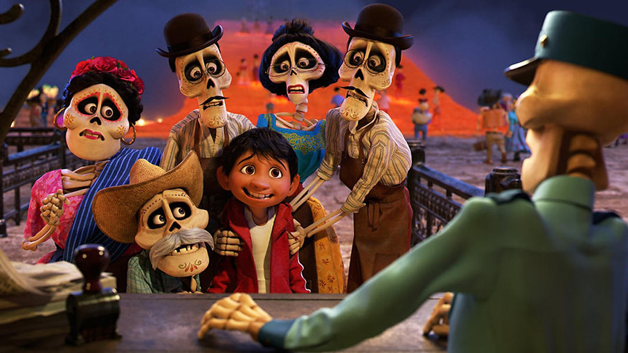 """Still from 2017's """"Coco."""""""