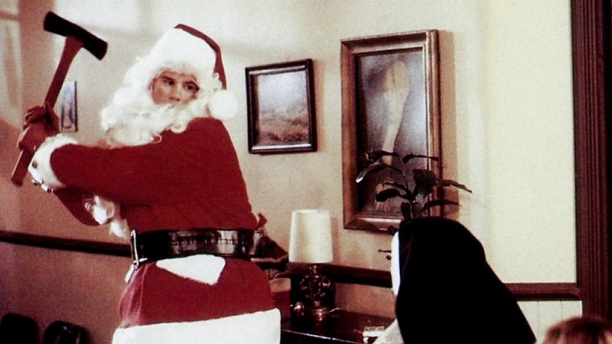 "From 1984's ""Silent Night, Deadly Night."""