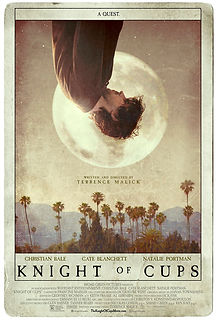"Movie poster for 2016's ""Knight of Cups."""