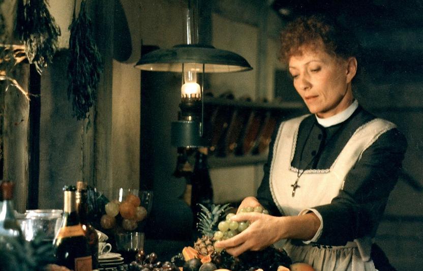 "Stéphane Audran in 1987's ""Babette's Feast."""