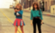 "Kelli Maroney and Mary Catherine Stewart in 1984's ""Night of the Comet."""