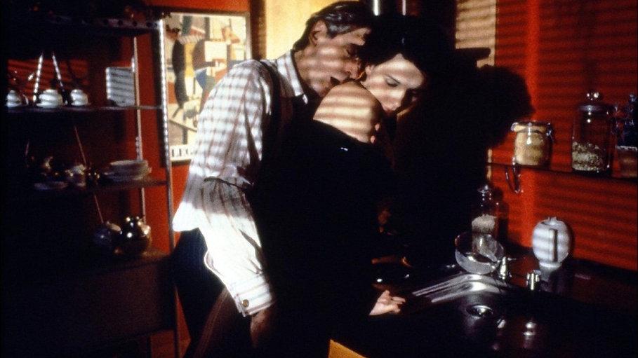 """Jeremy Irons and Juliette Binoche in 1992's """"Damage."""""""