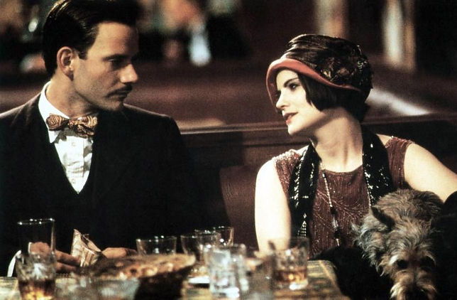"""Campbell Scott and Jennifer Jason Leigh in 1994's """"Mrs. Parker and the Vicious Circle."""""""