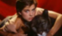 """Nastassja Kinski in 1982's """"Cat People""""."""