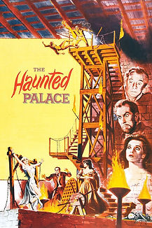 """Movie poster for 1963's """"The Haunted Palace."""""""