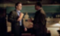 "Ben Affleck and Samuel L. Jackson in 2002's ""Changing Lanes."""