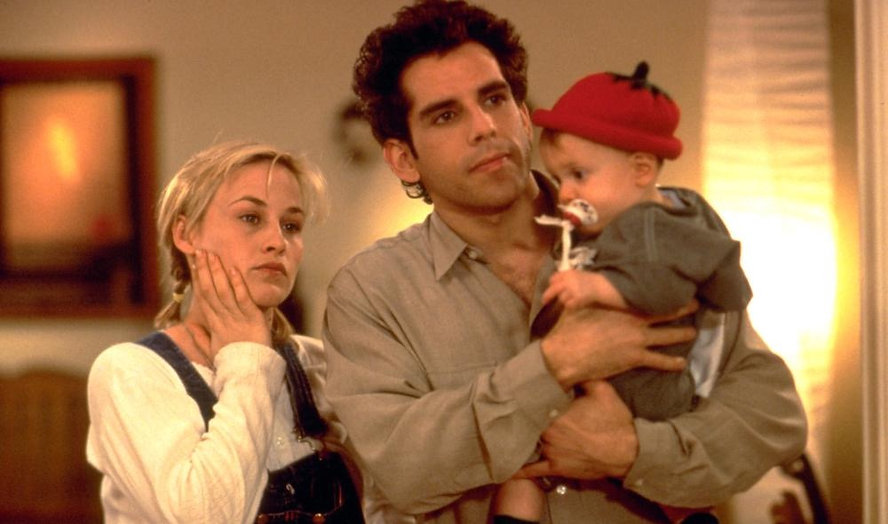 "Patricia Arquette and Ben Stiller in 1996's ""Flirting with Disaster""."