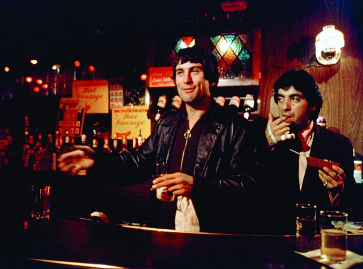 """Still from 1973's """"Mean Streets."""""""