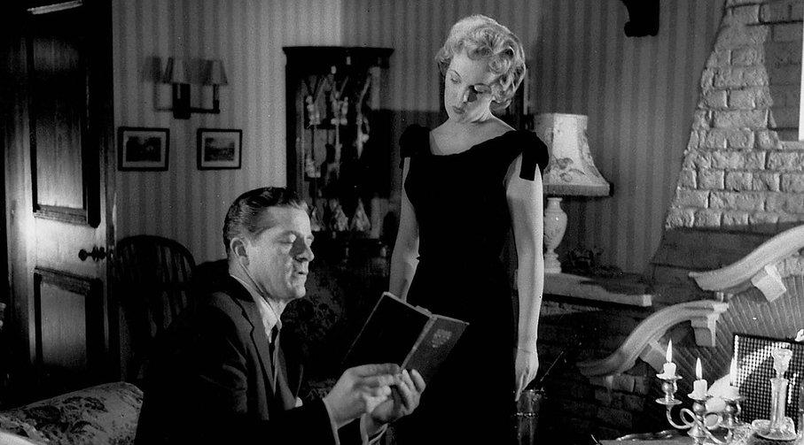"Still from 1957's ""Night of the Demon."""