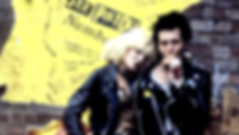 "Chloe Webb and Gary Oldman in 1986's ""Sid and Nancy."""