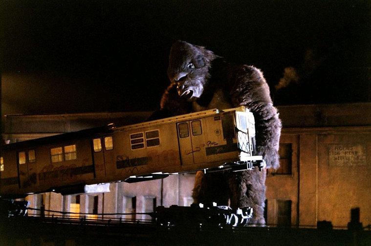 """Still from 1976's """"King Kong."""""""