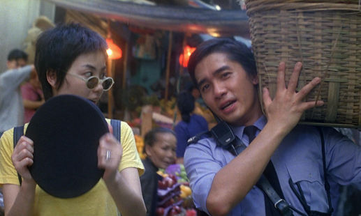 "Faye Wong and Tony Leung Chiu-Wai in 1994's ""Chungking Express."""