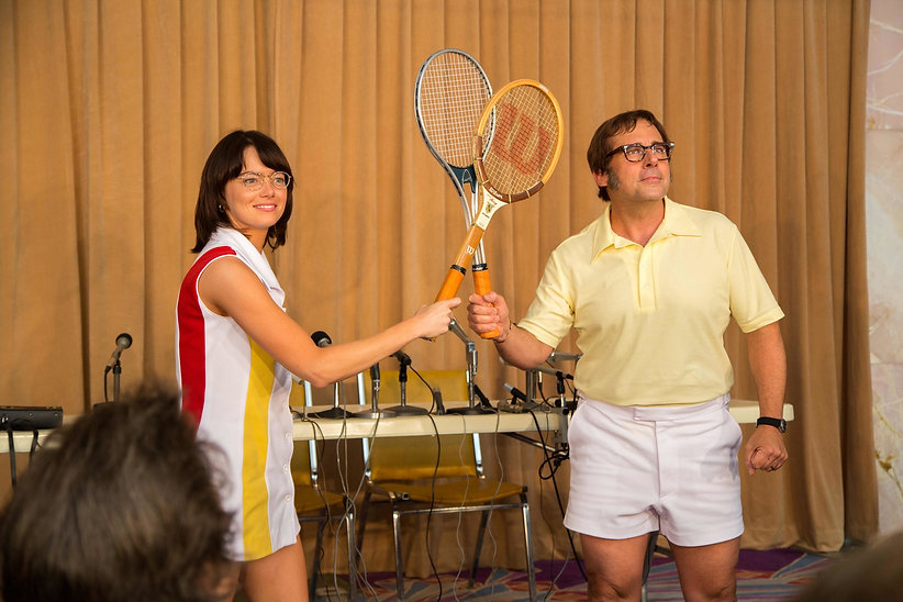 "Still from 2017's ""Battle of the Sexes."""