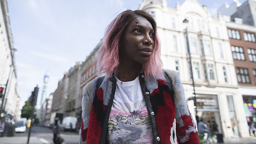 "Michaela Coel in 2020's ""I May Destroy You."""