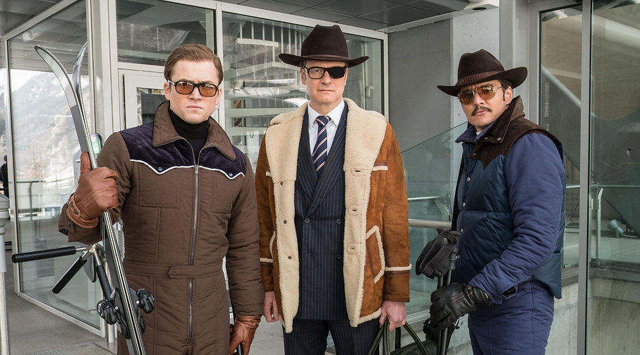 """Still from 2017's """"Kingsman: The Golden Circle."""""""