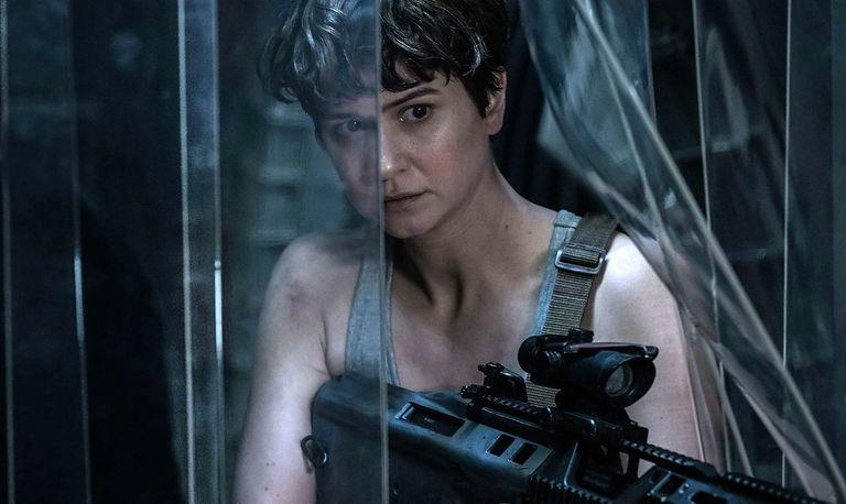 "Movie still from 2017's ""Alien: Covenant."""