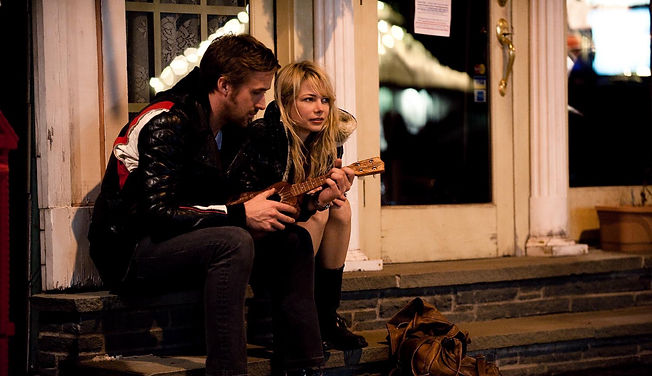 """Ryan Gosling and Michelle Williams in 2010's """"Blue Valentine."""""""