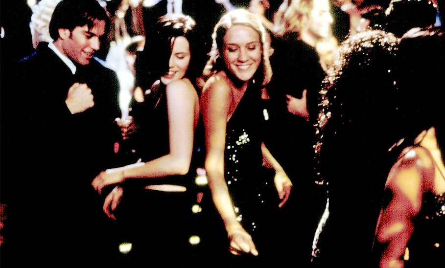 "Kate Beckinsale and Chloë Sevigny in 1998's ""The Last Days of Disco."""