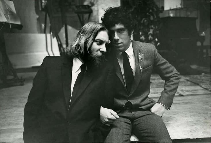 """Donald Sutherland and Elliott Gould in 1971's """"Little Murders."""""""