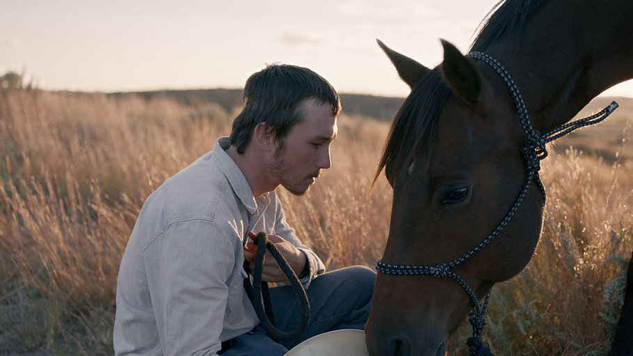 "Brady Jandreau in 2018's ""The Rider."""