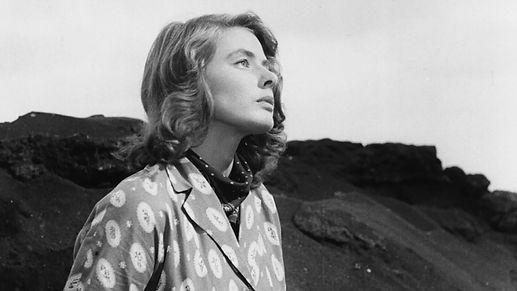 """Ingrid Bergman in 1950's """"Stromboli."""""""