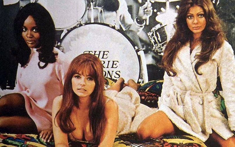 """Marcia McBroom, Dolly Read, and Cynthia Myers in 1970's """"Beyond the Valley of the Dolls."""""""