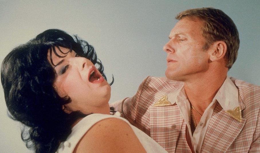 """Movie still from 1981's """"Polyester""""."""
