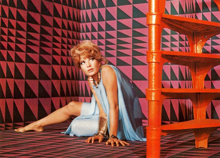 """Still from 1966's """"Modesty Blaise."""""""