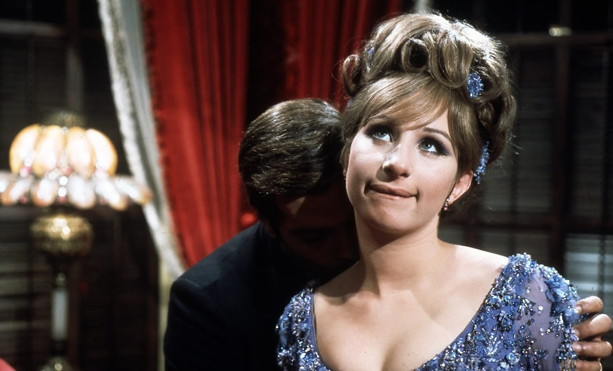 "Movie still from 1968's ""Funny Girl""."