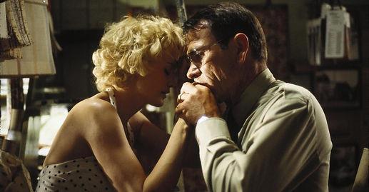 "Jessica Lange and Tommy Lee Jones in 1994's ""Blue Sky."""